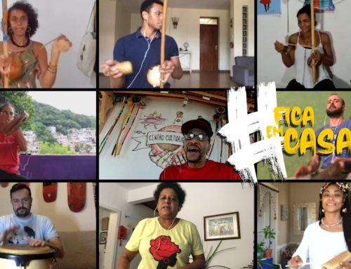 Capoeira Angola Manda Seu Recado #FicaEmCasa