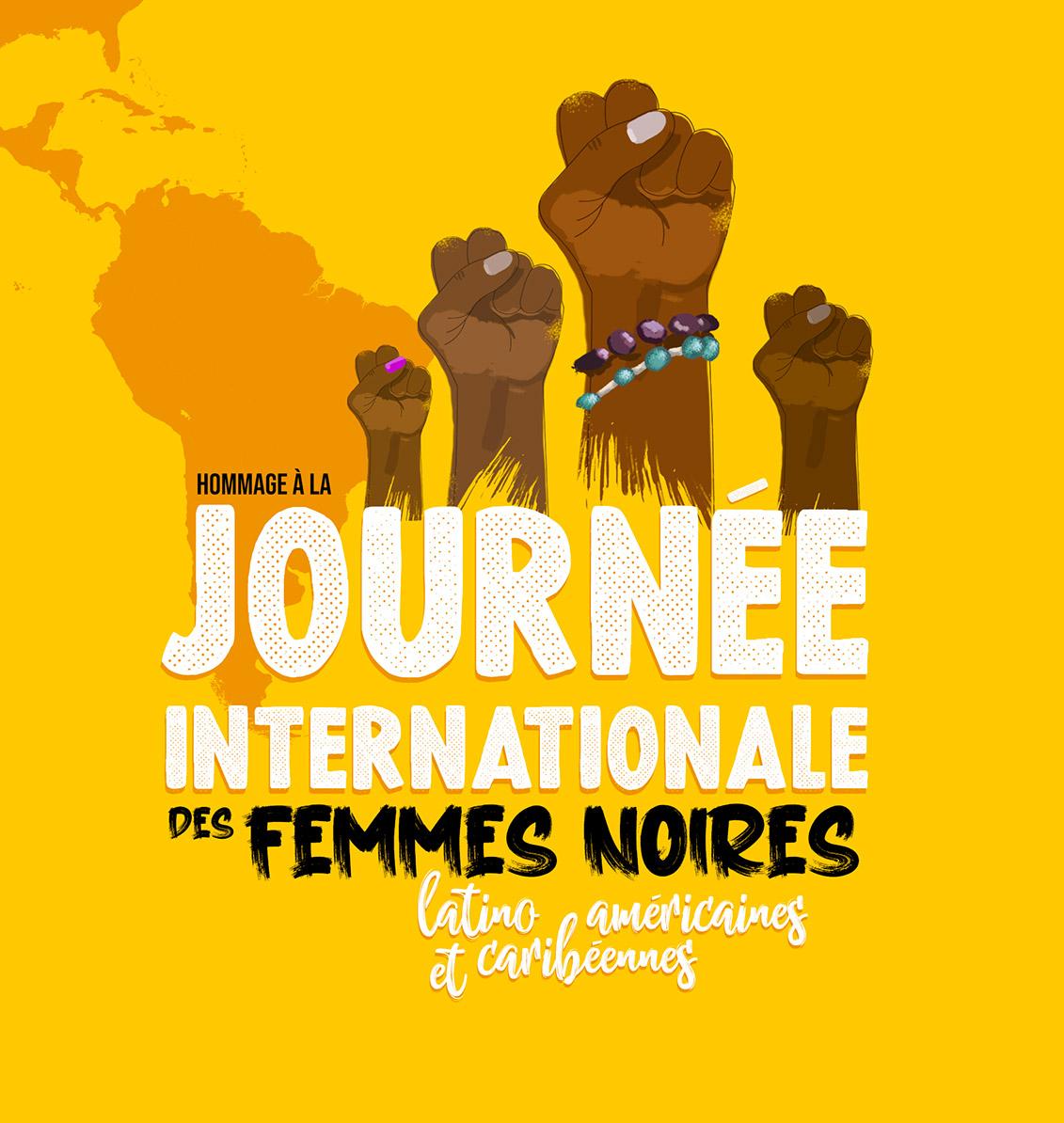 25 juillet – Journée internationale des femmes noires d'Amérique latine et des Caraïbes
